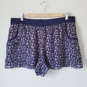 Hazel Anthro NWOT! Flowy Loose Fitting Lined Short
